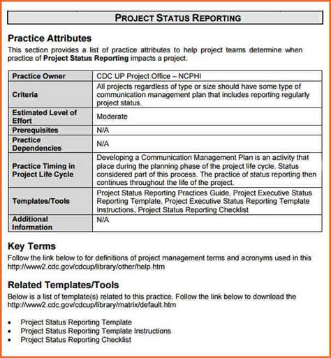 8 Weekly Status Report Template Doc Budget Template Letter Project Status Report Template Docs