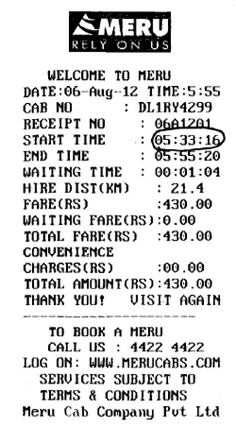stay away from meru cabs their service meru