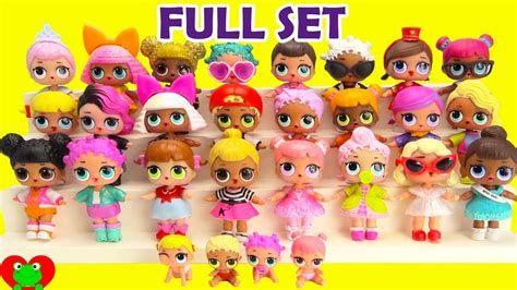 01 dollhouse m4a l o l dolls set complete collection 2020 on go drama