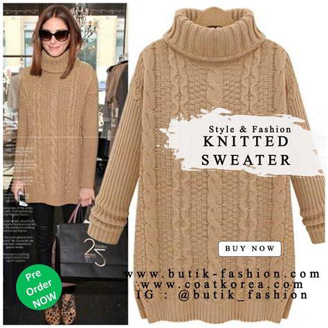 Baju Rajut Wanita Sweater Wanita Kode Black Stripe White sweater rajut sweater turle neck wanita import korea