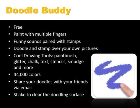 how to use smudge on doodle buddy encouraging creativity and the arts with an