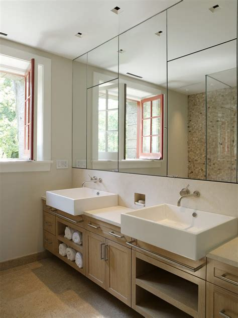 Mirror Wtih Electrical Outlet Bathroom Contemporary With Bathroom Mirror With Electrical Outlet