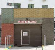 Underground Garage Russia by Entrance To Underground Parking Garage Royalty Free Stock
