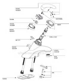 Changing A Bathtub Faucet Moen L4721cp Parts List And Diagram Ereplacementparts Com