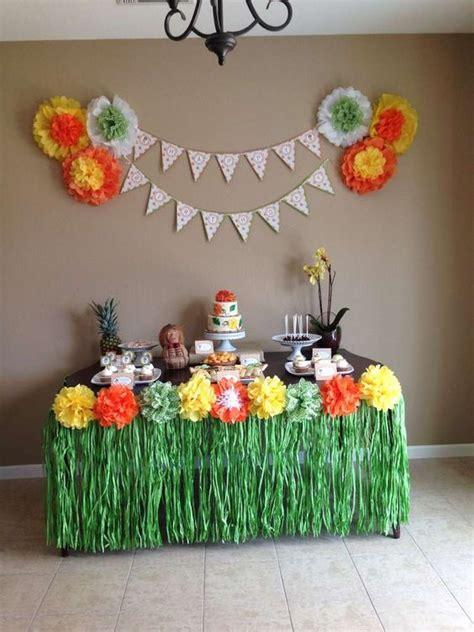hawaiian luau birthday party ideas luau birthday