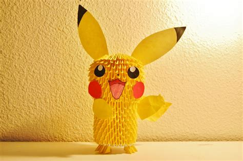 3d Origami Pikachu - pikachu album ibeautylovely 3d origami