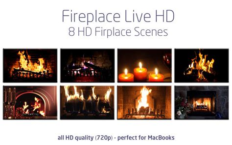 Fireplace Live Wallpaper by Fireplace Live Hd I Mac App Store