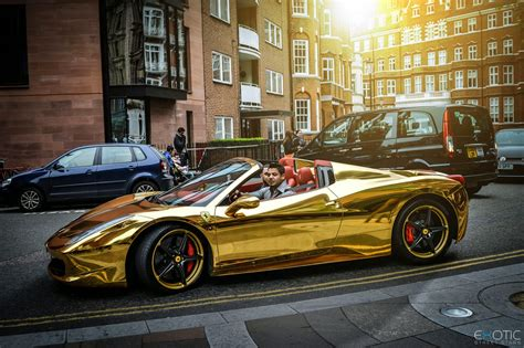 chrome ferrari 458 spider luxury life design chrome gold ferrari 458 spider