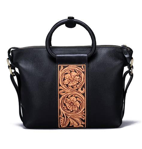 Leather Handbag Handmade - handmade leather handbag shoulder bag makkashop