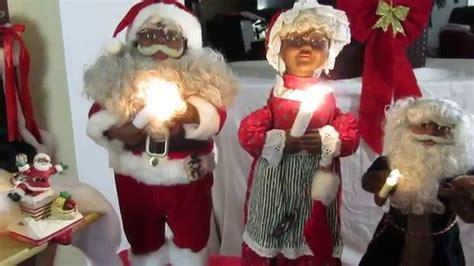 black santa claus 2015 black santa claus collection