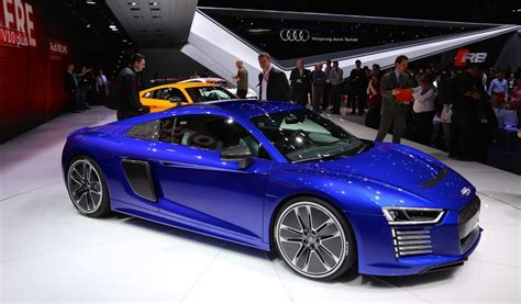 All Electric Cars 2017 2017 Audi R8 E All Electric Sports Car Live Photos
