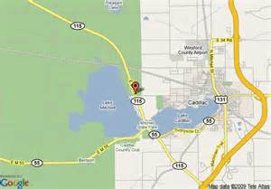 Hotels Cadillac Michigan Area Map Of Days Inn Cadillac Cadillac