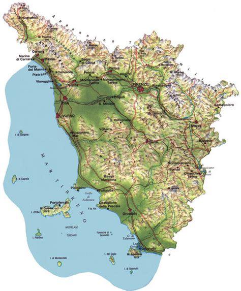 tuscany italy map tuscany physical map tuscany italy mappery