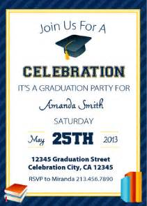 free graduation invitation templates theruntime