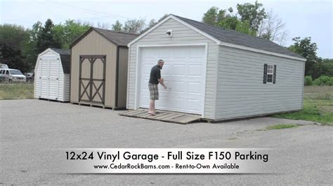 building garage plans pleasant style storage is like 12x24 garage f150 parking youtube