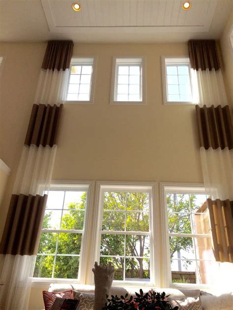 Two Story Curtains 242 Best 2 Story Window Treatments Images On Blinds Custom Window Treatments And