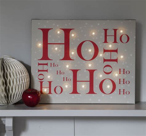 lighted canvas christmas pictures christmas illuminated canvas by letteroom
