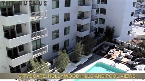 appartments in hollywood the avenue home quot hollywood apartments quot youtube