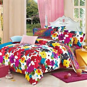 bright colorful bedding sets and bright colorful fashion luxurious floral 100
