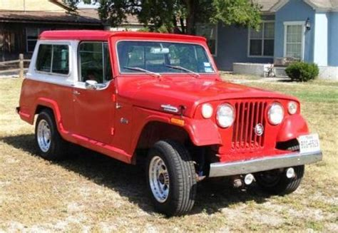 1971 jeep commando purchase used 1971 jeepster commando v6 225 3 7 in for