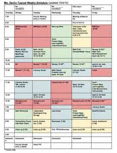 teaching timetable template classroom schedule template for teachers weekly pattern