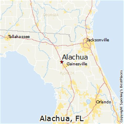 Average Rent Cost best places to live in alachua florida
