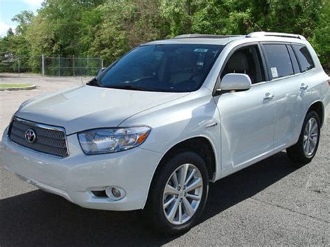 Toyota Highlander Hybrid Used Toyota Highlander Hybrid Price Modifications Pictures