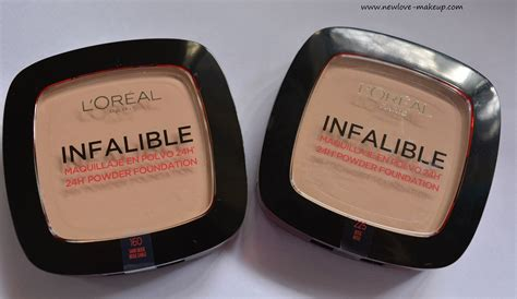 L Oreal Infallible Powder l oreal infallible 24h powder foundation review