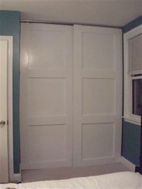 Make Your Own Closet Doors How To Make Your Own Floor To Ceiling Sliding Closet Doors Bedroom Pinterest Sliding Doors