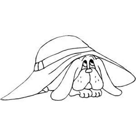 coloring pages of bloodhounds bloodhound puppy coloring page