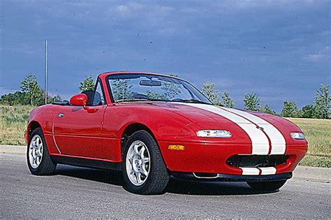 how to learn about cars 1994 mazda miata mx 5 engine control 1990 98 mazda miata consumer guide auto