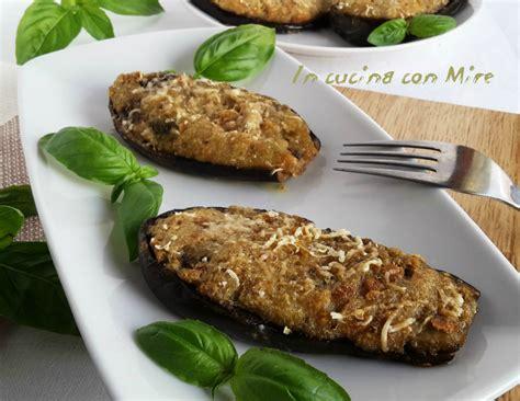 cucinare senza carne melanzane ripiene senza carne alla calabrese quot mulingiane