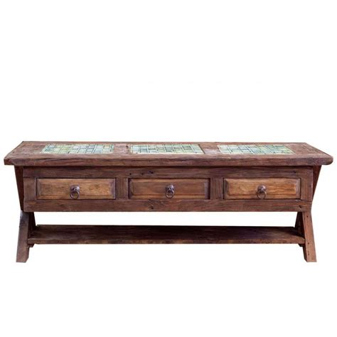 order reclaimed coffee table with hideaway