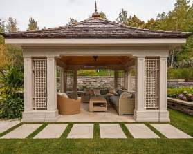 Gazebo Vs Pergola by Gardens Modern Gazebo And Design On Pinterest