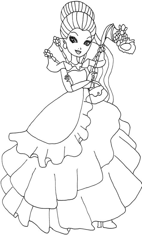 Thronecoming Raven Queen By Elfkena On Deviantart Coloring Pages For After High Babies
