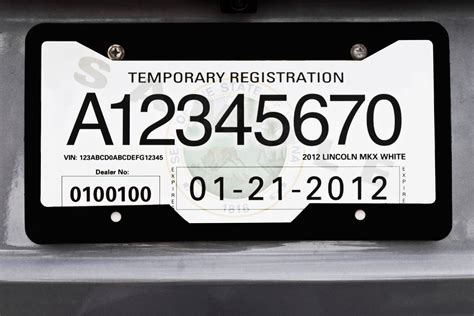 28 Images Of Temporary License Plate Template Tonibest Com Printable Temporary License Plate Template
