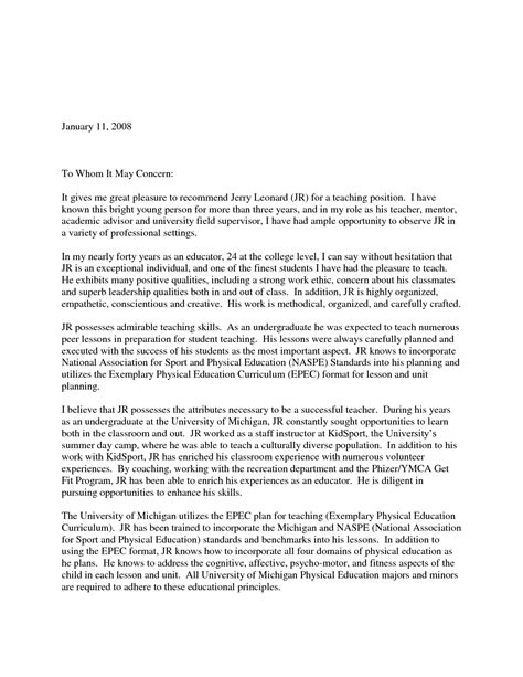 exle letter of recommendation eagle scout letter of recommendation sle from parents