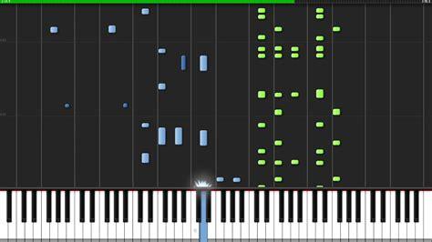 tutorial piano eminem lose yourself eminem piano tutorial synthesia