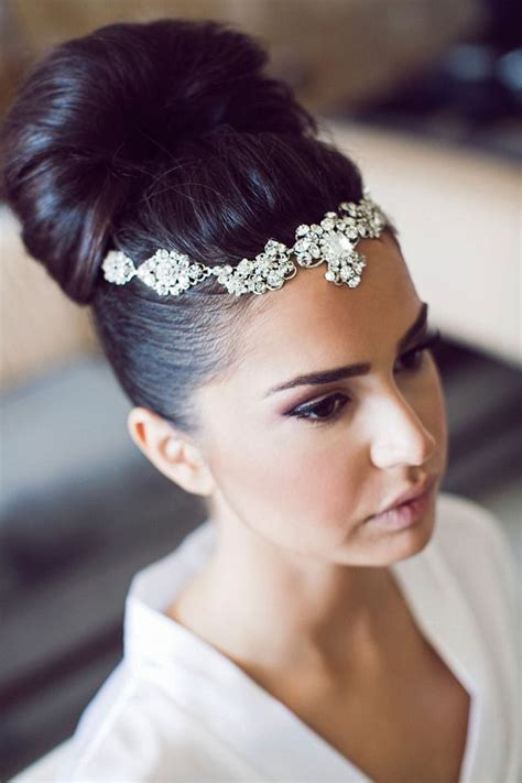 bridal hairstyles dark hair wedding hairstyle ideas for naturally black hairs