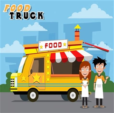 food truck design illustrator free vector graphic art free photos free icons free