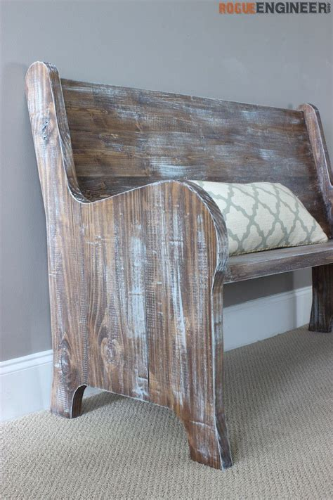 church benches free how to build a church pew free diy plans diy tutorial