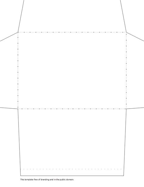 envelope templates for pages envelope templates