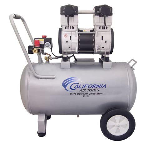 california air tools 15 gal 2 0 hp 220 volt 60 hz ultra and free air compressor