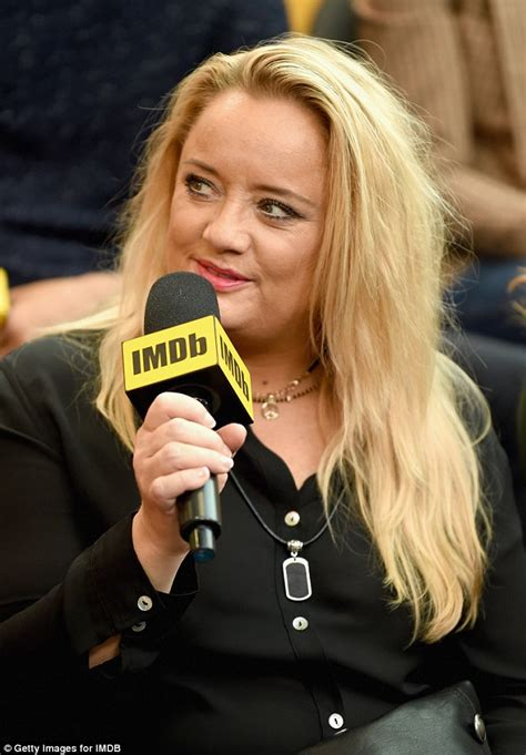lucy davis on ncis lucy davis rocks all black look as she promotes the