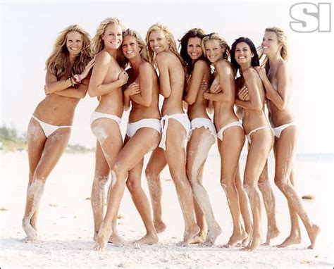 group model feet group gallery sports illustrated swimsuit 2006