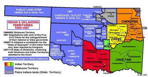 map of american tribes in oklahoma oklahoma indian nations map bnhspine