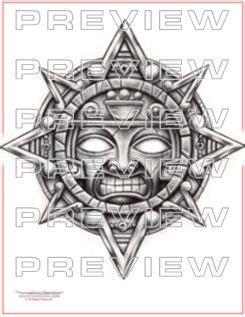 tattoo flash calendar sun tattoos aztec and sun tattoo designs on pinterest