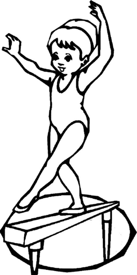 gymnastics coloring pages free printable get this gymnastics coloring pages free printable u043e