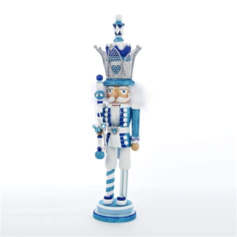hollywood blue and white nutcrackers