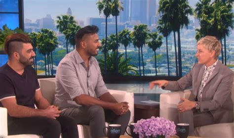 ellen degeneres india this gay iraqi army couple s love story on the ellen